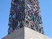 TopRq.com search results: Bicycle obelisk by Mark Grieve and Ilana Spector