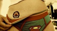 People & Humanity: girl wearing superhero panties