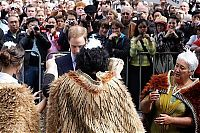 Celebrities: Prince William in New Zealand
