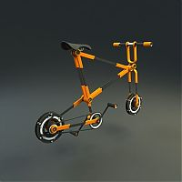 TopRq.com search results: urban bicycle concept with folding wheel system